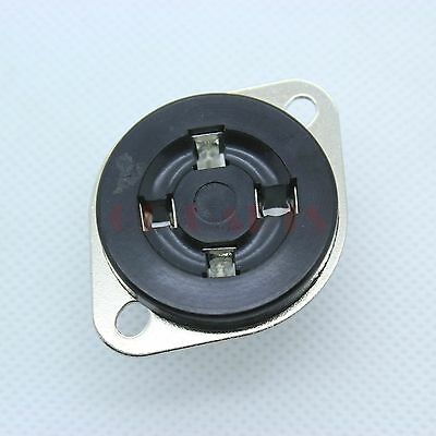 U4A 4pin Bakelite Vacuum tube socket FR 2A3,300B,PX4,274A Tube audio amps DIY*4
