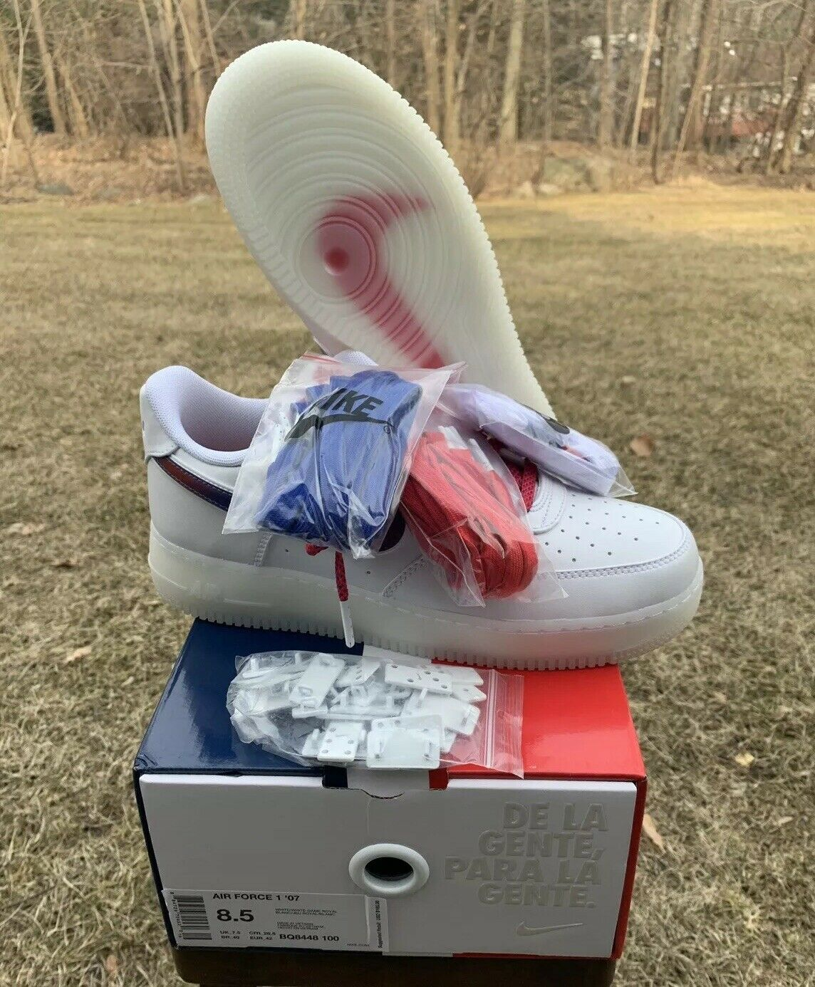 Nike Air Force 1 De Lo Mio Size 8.5 Brand New