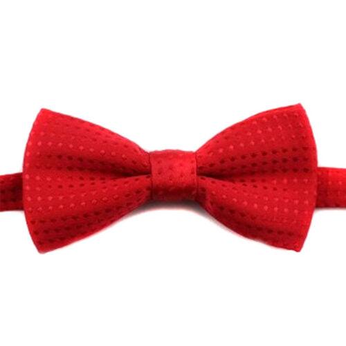 Garçons Enfants Bow Tie Enfants Bébé à Pois Cravate De Mariage De Bal Smoking Fête Nœud Papillon