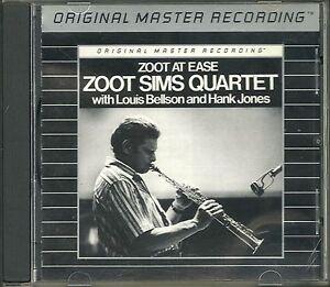 Sims-Zoot-Quartet-Zoot-At-Ease-MFSL-Silver-Alu-CD-RAR-OOP