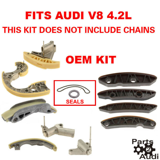 Engine Timing Guides Tensioners For Audi A6 Quattro