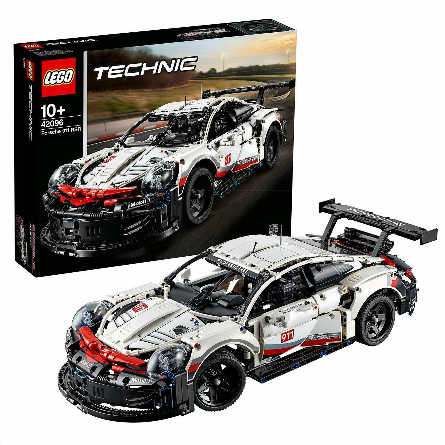 LEGO 42096 Technic Porsche 911 RSR  GT Model Race voiture Advanced Construction Kit  70% de réduction