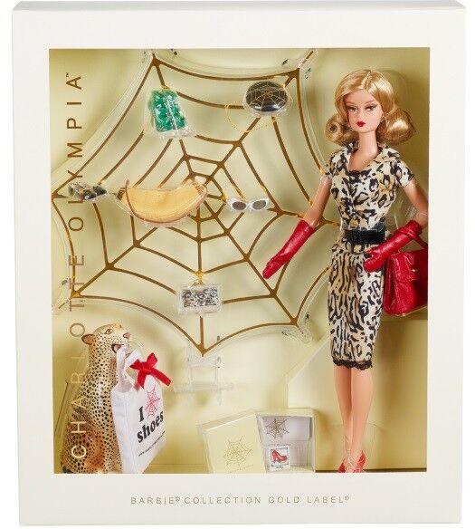Muñeca Barbie Collector Charlotte Olympia oro Label todavía en Papel De Seda Nuevo