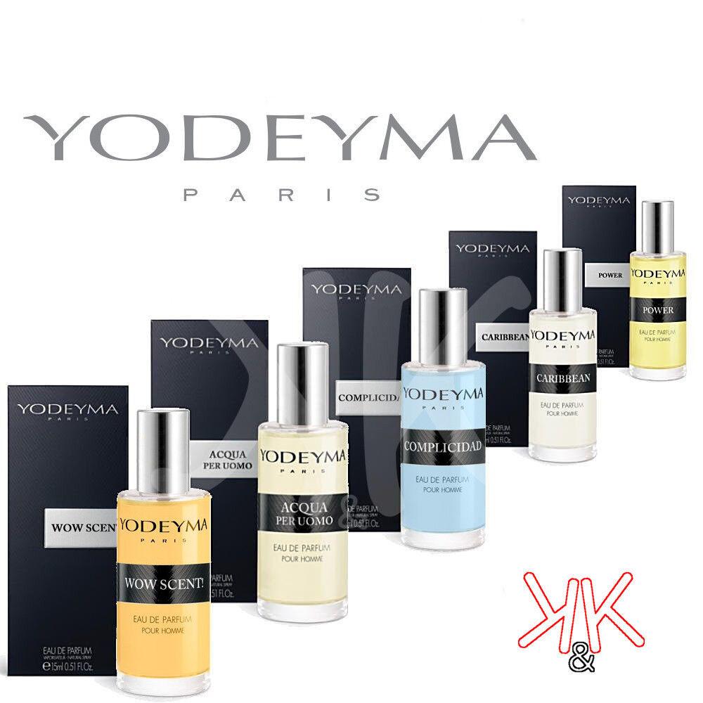 profumi: Profumi originali di Yodeyma profumo equivalente da Uomo 15 ml EDP Spray piccolo