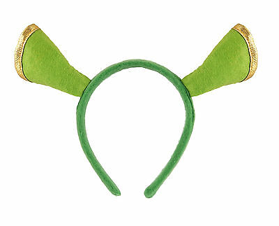 Fiducioso Verde Ogre Shrek Orc Orecchie Cerchietto Unisex Costume Accessorio-mostra Il Titolo Originale Styling Aggiornato