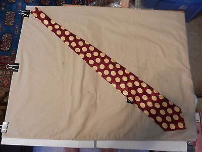 O6 Frank Sinatra Neck Tie 80th Birthday Collection Navy Blue with Gold BNWT OS