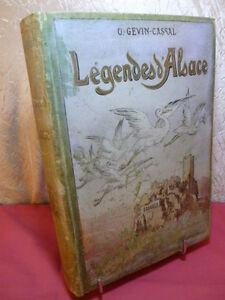 LEGENDES-D-039-ALSACE-illustrations-de-A-Robida-O-Gevin-Cassal