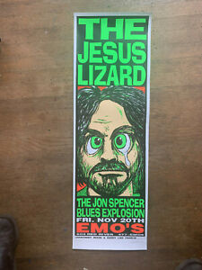 Jesus-Lizard-Jon-Spencer-Blues-Explosion-Concert-Poster-Kozik-Signed-1992