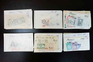 Monaco-1950s-to-1980s-Strong-Mint-Mostly-NH-Stamp-Collection