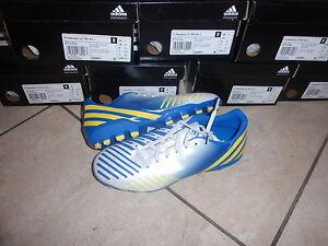Adidas neue Fußballschuhe Absolado LZ Größe 38 2/3 blau gelb weiß