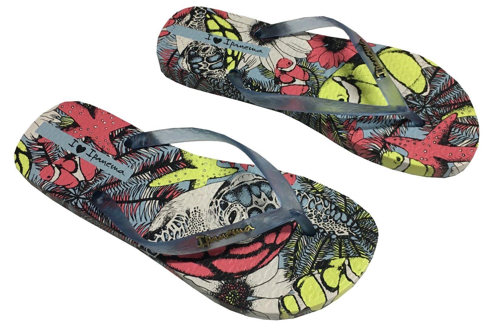 Womens Girls Ipanema Wave Heart Flip-Flops Assorted Colours UK Seller Size