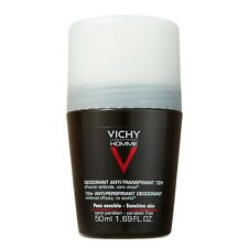 Vichy Homme 72 Hour Deodorant Extreme Control (PACK OF TWO)