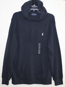 Polo-Ralph-Lauren-Mens-Size-M-Navy-Blue-Thermal-Hoodie-L-S-Shirt-NWT-Size-M