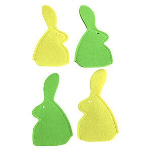 4x-Hase-gruen-gelb-20-x-10-cm-Hasendeko-Fruehling-Fruehlingshase-Eierwaermer-Ostern