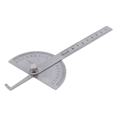 180 degree Protractor Angle Finder Arm Rotary Measure Ruler Stationery Supply IT