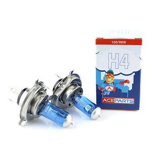 Citroen C2 55w Super White Xenon HID High//Low//LED Side Light Headlamp Bulbs Set