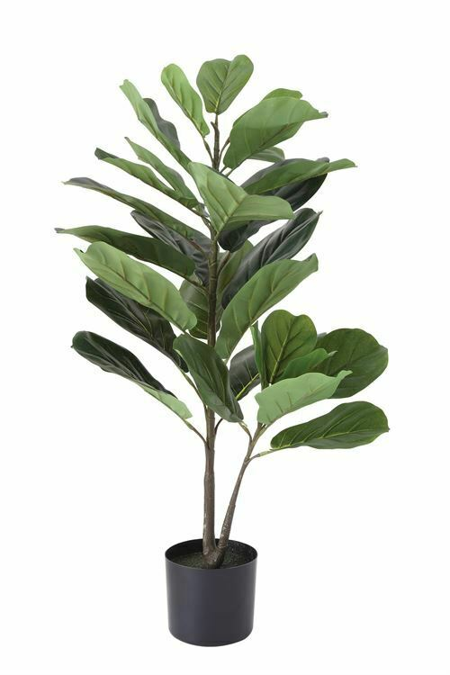 36  Faux Fiddle Fig Leaf Plant Creative Coop
