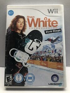 Shaun White Snowboarding: World Stage (Nintendo Wii, 2009) Clean & Tested
