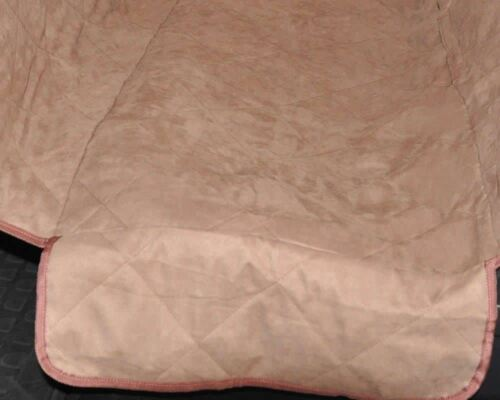 Deluxe Suede Quilted Waterproof Hammock Car Seat Cover