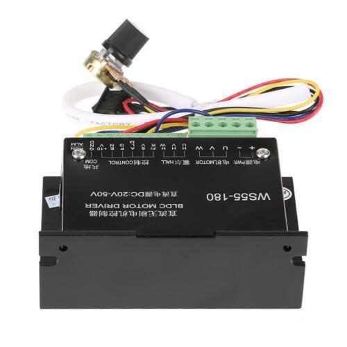 DC 20V-50V WS55-180 CNC Brushless Spindle BLDC Electromotor Driver Controller