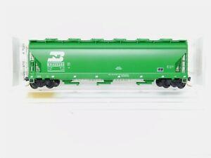 N MTL Micro-Trains 93020 BN Burlington Northern 3-Bay Covered Hopper #459385