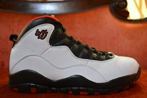 premium selection 6f5e9 87f48 Image is loading WORN-1X-Air-Jordan-X-10-Retro-CHICAGO-