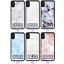 miniatura 3 - For iPhone 12 Pro Max 11 XS Case Marble IV Personalised Text Initial Custom Name
