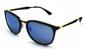 Ray Ban Active RB4299 601S55 56 Matte Black Frame   Blue Mirror ... 082c3eb536