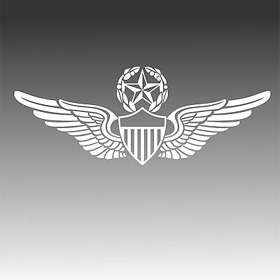 U.S. Army Master Aviator Pilot Wings Decal Military Aviation Sticker
