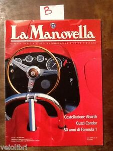 LA MANOVELLA Dicembre 1997 - Costellazione Abarth, Guzzi Condor, 50 anni di F1