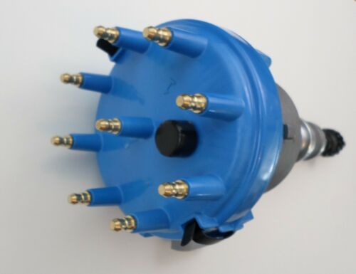 BLUE PERFORMANCE SPARK PLUG WIRES USA 1985-1991 FORD 5.0L 302 EFI DISTRIBUTOR