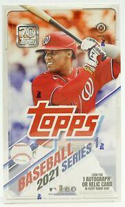 2021 Topps Series 1 Hobby Baseball Factory Sealed Box ~ 24 Packs +1 Silver Pack!