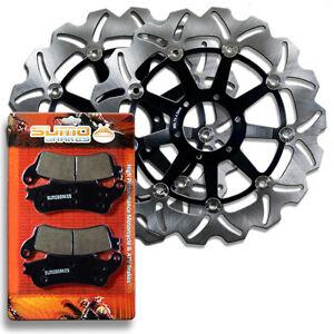 Honda-Front-Brake-Rotor-Pads-VFR800-F-Interceptor-98-05-XL1000-Varadero-99-06