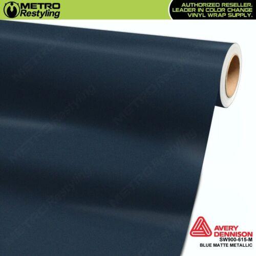 Avery Supreme MATTE BLUE METALLIC Vinyl Vehicle Car Wrap Film Roll SW900-615-M