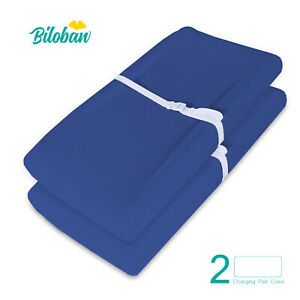 100-Cotton-Baby-Waterproof-Changing-Pad-Covers-Infant-Sheets-2-Pack-32-034-x16-034