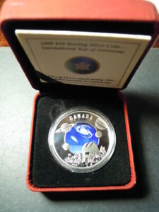 2009-Canada-30-dollars-Year-of-Astronomy-Observatory-Telescope-Saturn-Jupiter-Ag