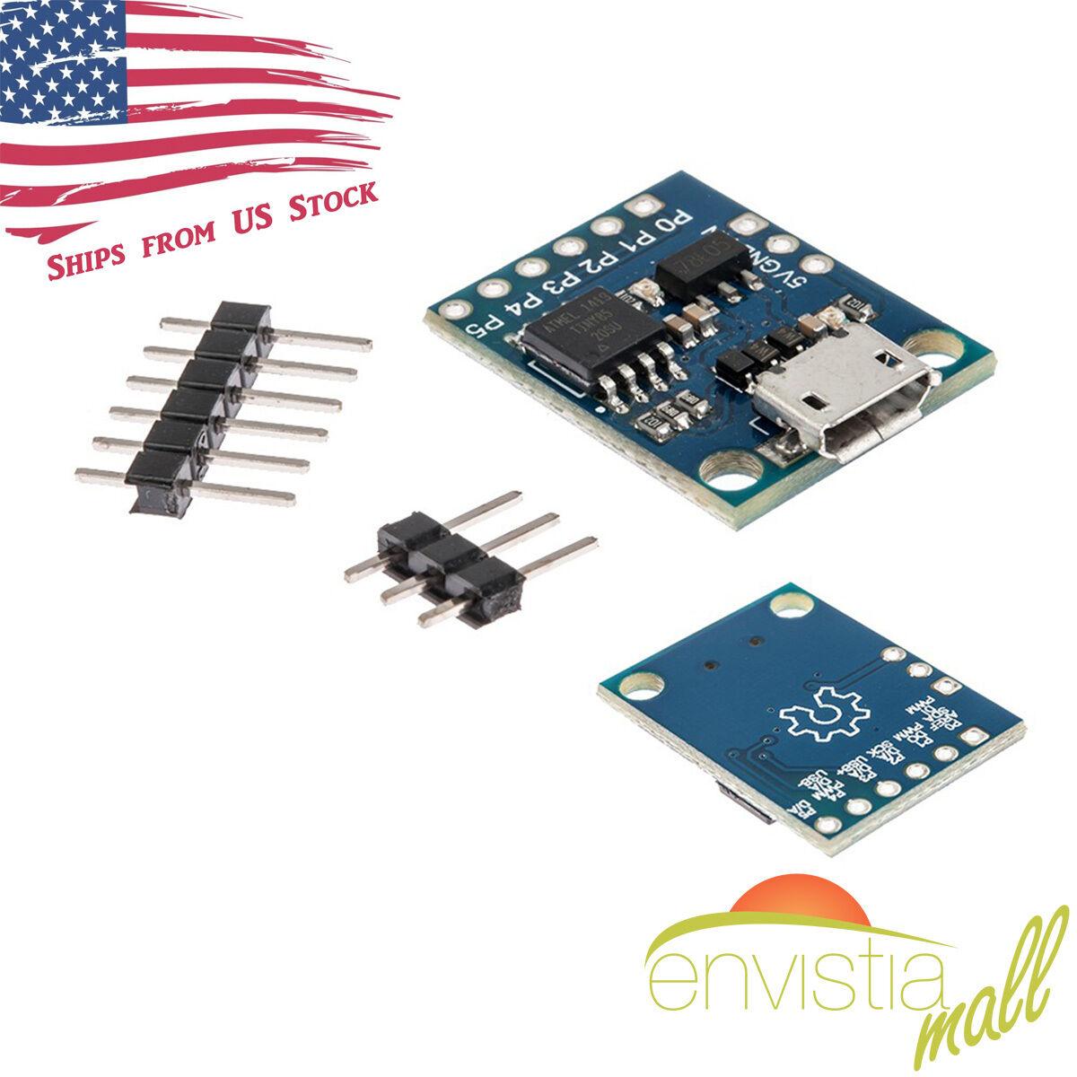 1AB8 Kickstarter 5V USB Micro ATTINY85 Development Boards Panel Kit Arduino