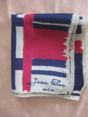 JEAN PATOU Paris Vintage SCARF
