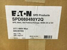 Eaton Surge Protection Device SPD080480Y2Q 480Y/277 Volt 4X Enclosure 80kA