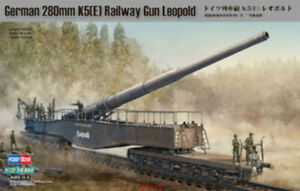 Hobbyboss-1-72-82903-German-Railway-Gun-280mm-K5-E-Model-Kit-Hot
