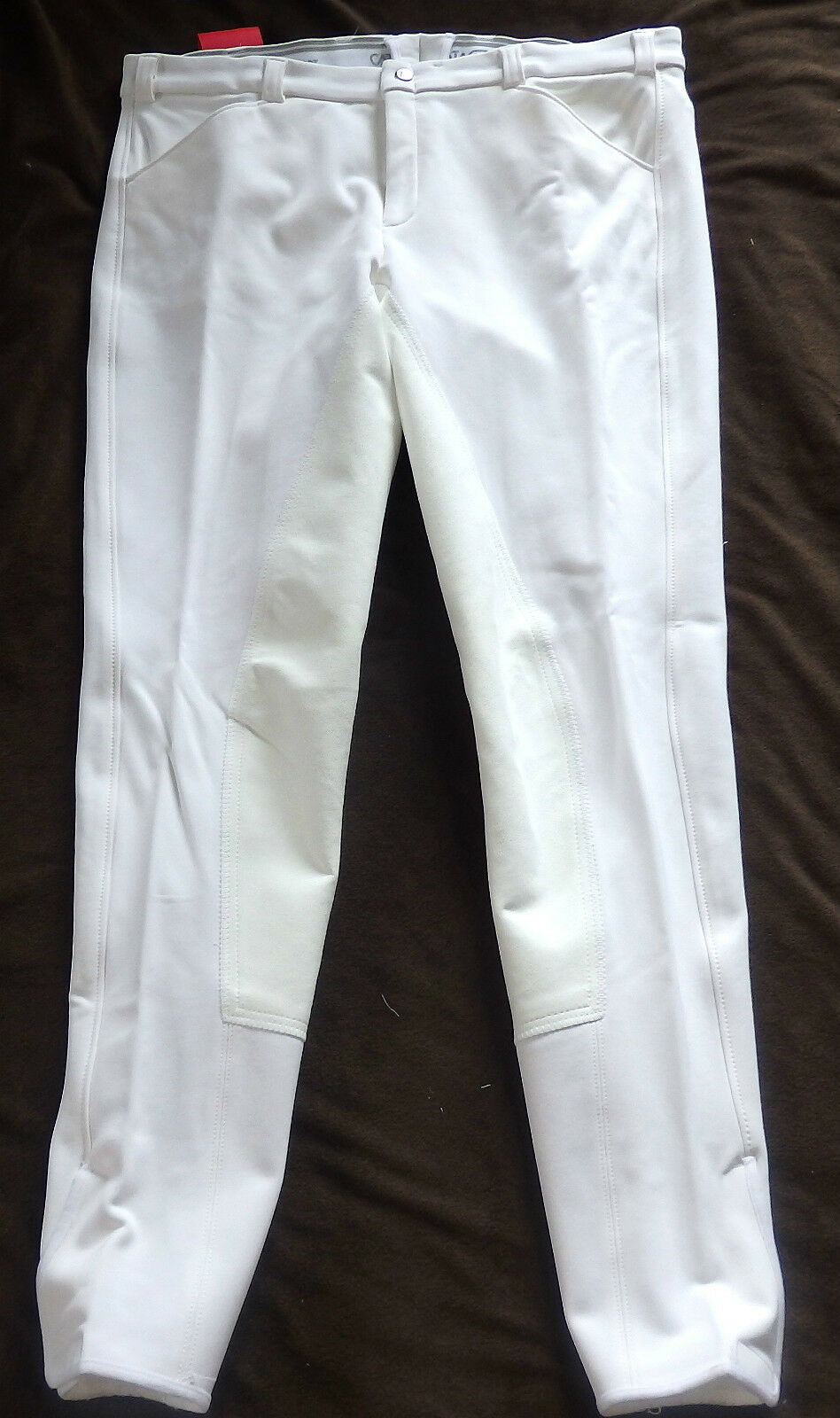 Catago Uomo Pantaloni Montala, 3 4 guarnizione in pieno, Bianco, Tg. 116 (197)
