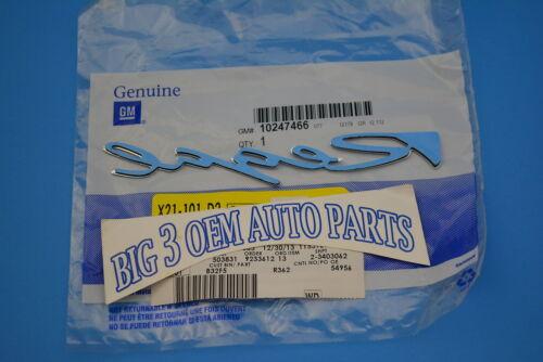 1995-2001 Buick Regal RH or LH Side Door Chrome Regal Nameplate new OEM emblem