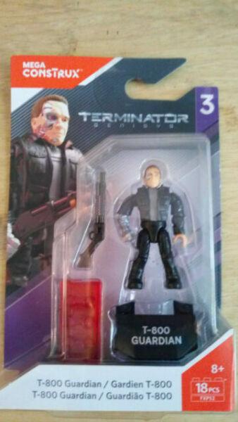 Mega Construx Heroes Wave 3 Terminator T-800 Guardian Figure