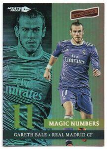 2016-17 Panini Aficionado Magic Numbers Artist's Proof 11 Gareth Bale