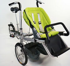 """16""""Wheel Folding Bicycle Pushchair Mother Baby Stroller Bike Carrier. Cars4Kids"""