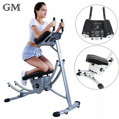 heavy duty abs abdominal exercise machine crunch coaster