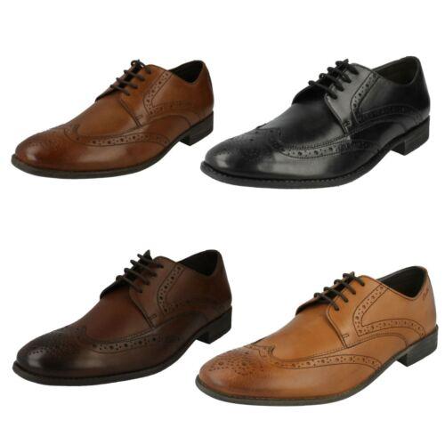 Limite Cuero Zapato Gráfica Cordones Clarks Calado Hombre PwRqEYxOO