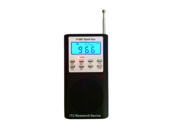 P-SB7 SCATOLA DELLO SPIRITO RICERCA ITC FM//AM Ghost apparecchiature radio PSB7 paranormale UK