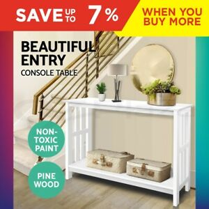 Artiss-Hall-Console-Table-Hallway-Side-Entry-Display-Desk-Timber-Stand-Wooden