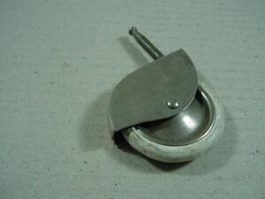 1-x-Moebelrolle-50er-Jahre-Rolle-fuer-Moebel-Teewagen-o-ae-60-mm-Durchmesser-weiss